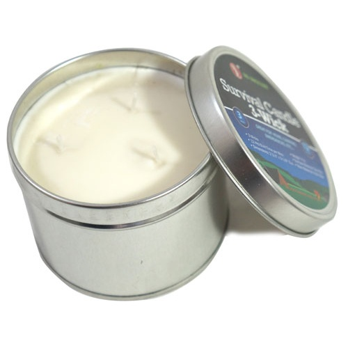 SURVIVAL CANDLE IN A TIN