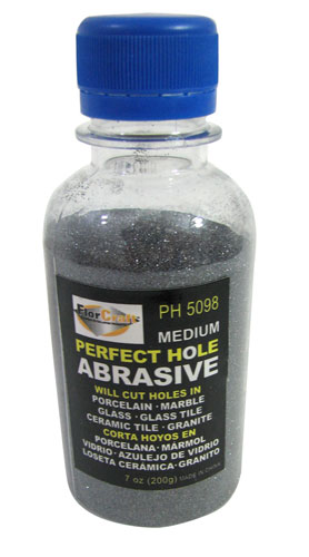 MEDIUM-GRIT DRILL ABRASIVE POWDER
