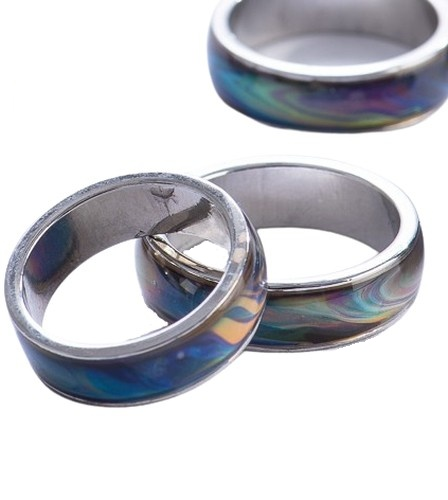 COLOR-CHANGING MOOD RINGS