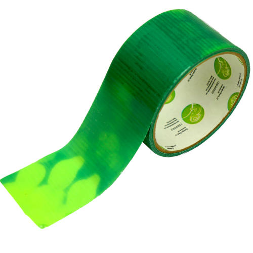 COLOR-CHANGING GREEN-YELLOW DUCT TAPE