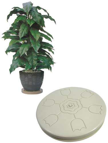 BATTERY OPERATED PLANT TURNTABLE