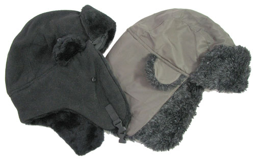 ASSORTED HUNTER HATS WITH EARFLAPS