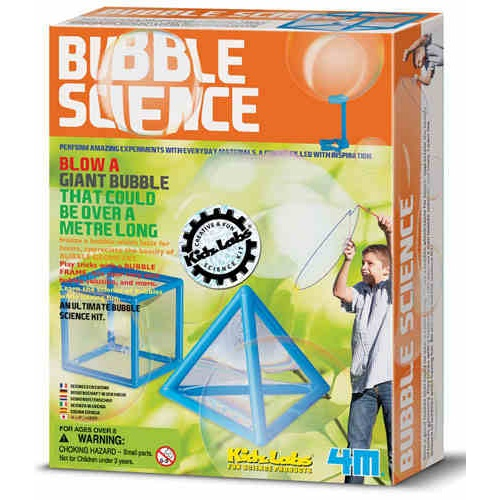 BUBBLE SCIENCE ACTIVITIES KIT