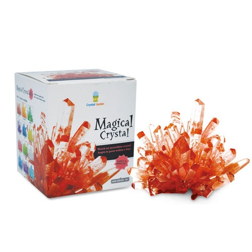 RED CRYSTAL GROWING KIT