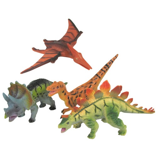 RUBBER DINOSAURS