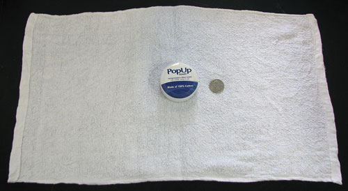 REUSABLE COMPRESSED COTTON POP UP TOWELS