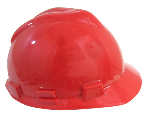 RED PLASTIC BUMP CAP