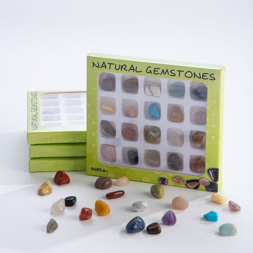 20 PIECE GEMSTONE SET
