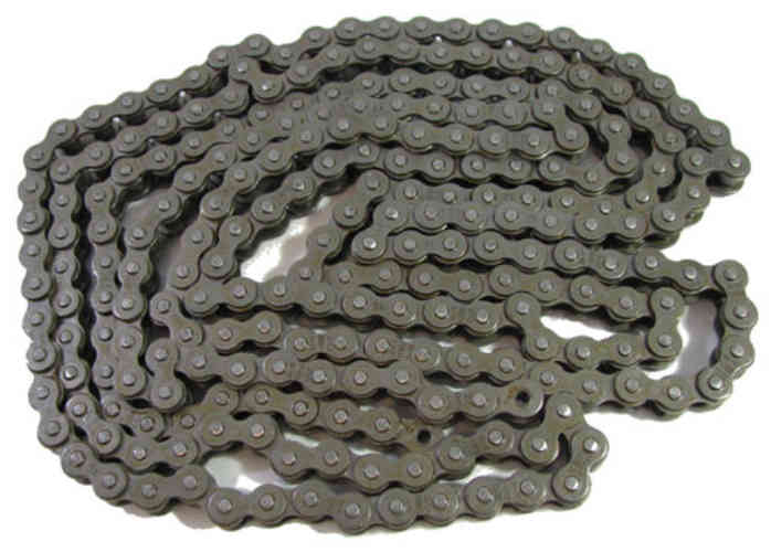 10-FOOT #420 ROLLER CHAIN