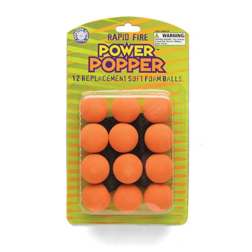 12 POWER POPPER™ REPLACEMENT BALLS