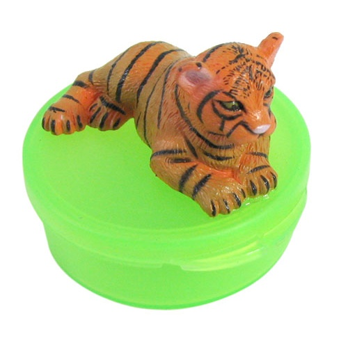 BENGAL TIGER SNAP-TOP PILL BOX