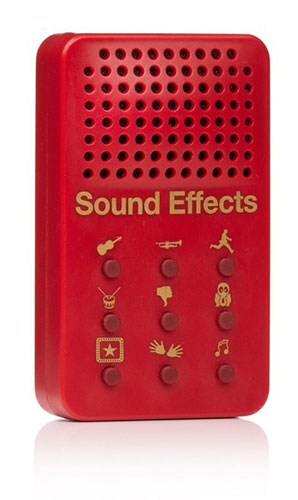 PORTABLE MUSICAL MOMENTS SOUND EFFECTS MACHINE