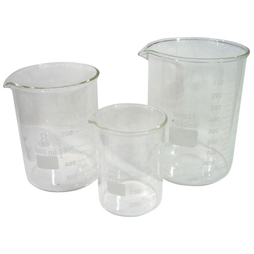 HEAT RESISTANT GLASS BEAKER SET