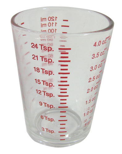 4 OZ MEASURING GLASS