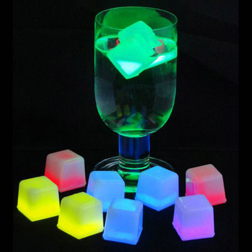 GLOWING ICE CUBES