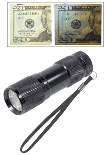 POCKET UV LED FLASHLIGHT
