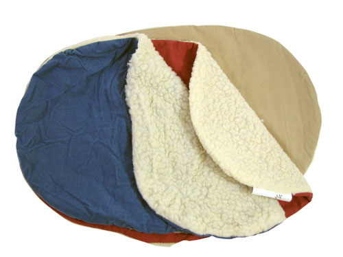 "MICROFIBER POLY FLEECE 18"" X 22"" UNFILLED PET BEDS"