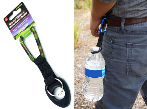 BOTTLE CARRIER WITH CARABINER
