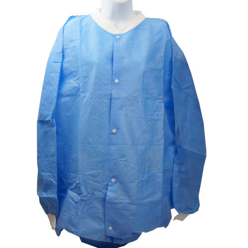 "43"" LONG X-LARGE TEAR-RESISTANT LAB COAT"