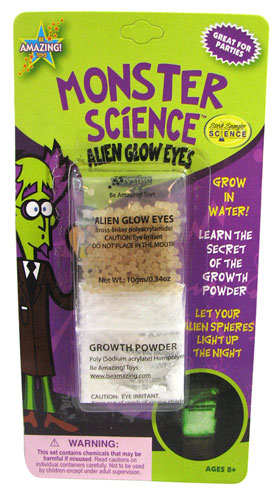 ALIEN GLOW EYES KIT