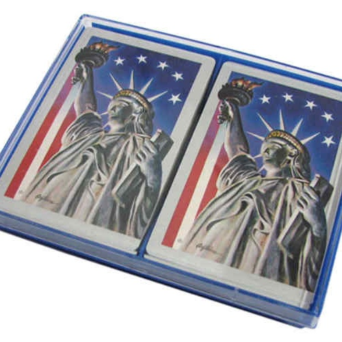 AMERICA-THEMED PLAYING CARDS