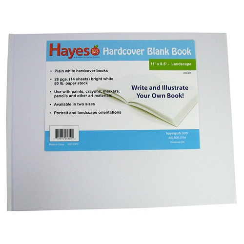 LARGE BLANK HARDCOVER BOOK