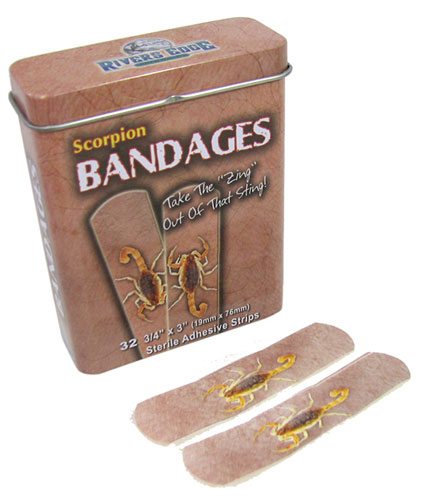 SCORPION BANDAGES