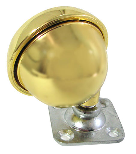 "2-1/2"" BRASS BALL SWIVEL PLATE CASTERS"