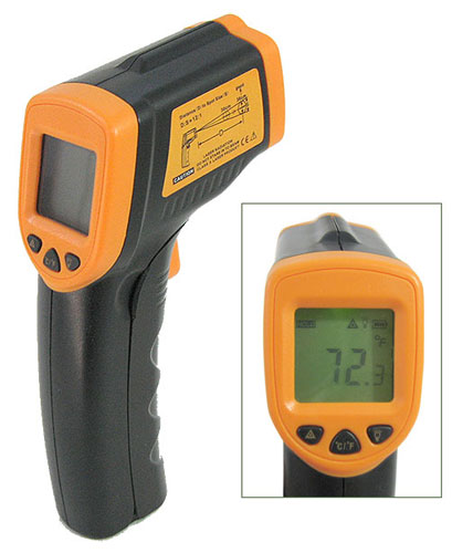 PISTOL STYLE INFRARED THERMOMETER