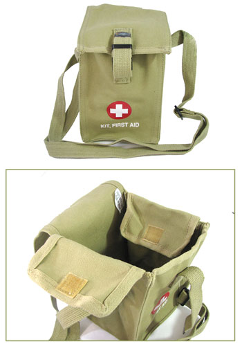 OLIVE DRAB FIRST AID POUCH