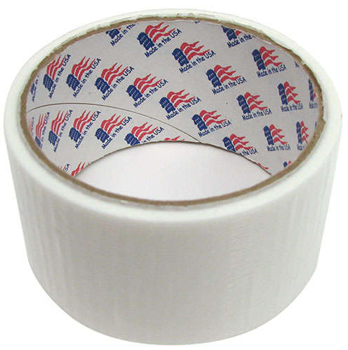 "1-7/8"" WIDE TRANSLUCENT WHITE DUCT TAPE"
