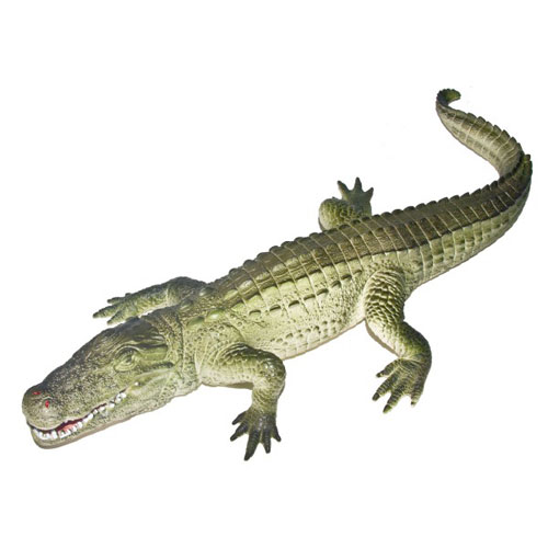 "16"" AUTHENTIC PLASTIC ALLIGATOR"