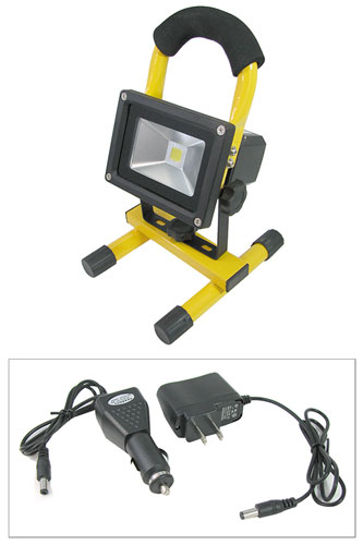 600 LUMEN PORTABLE RECHARGEABLE LED FLOODLIGHT