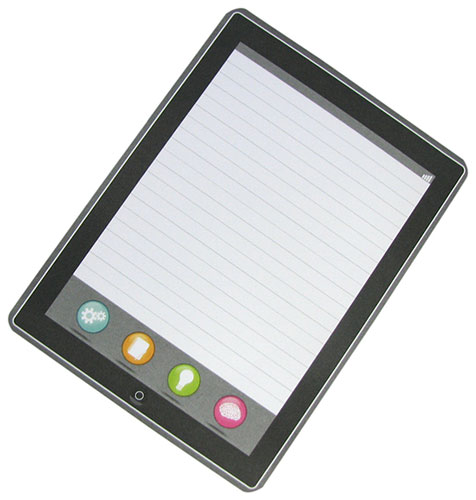 RULED MAGNETIC NOTEPAD
