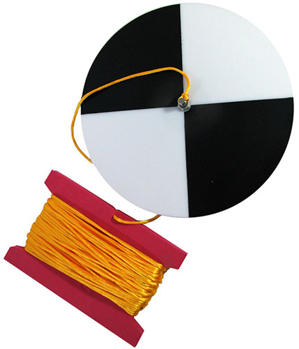 SECCHI DISK WITH NYLON CORD