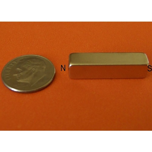 COLUMN-SHAPED NEODYMIUM MAGNET