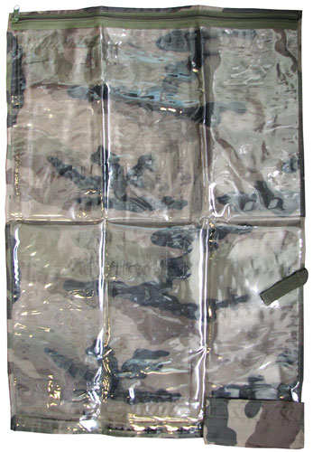 NYLON CAMOUFLAGE MAP CASE