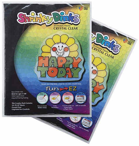 SHRINKY DINKS® CLEAR PACK