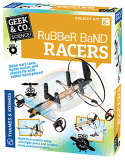 RUBBER POWERED VEHICLES KIT