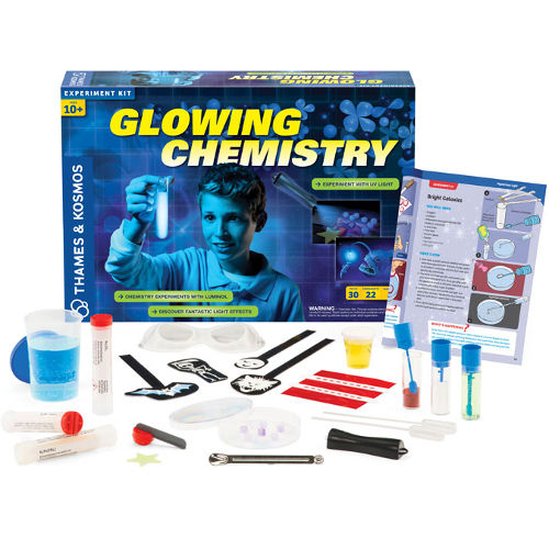 GLOW IN THE DARK CHEMISTRY KIT
