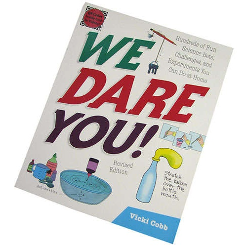 WE DARE YOU SCIENCE BOOK