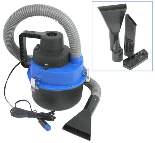 PORTABLE MINI WET-DRY VACUUM 12VDC