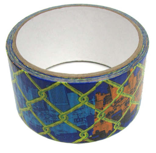 "1-7/8"" WIDE CHAIN LINK/SKYLINE DUCT TAPE"