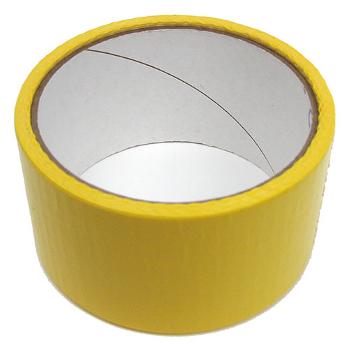 "1-7/8"" WIDE YELLOW DUCT TAPE"