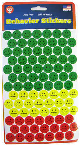 BEHAVIOR INDICATOR STICKERS