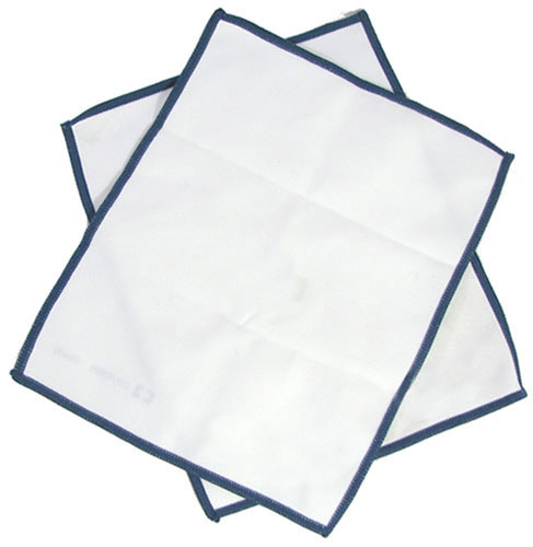 "MICROFIBER CLEANING TOWELS 7-5/8"" X 6-3/8"" PAIRS"