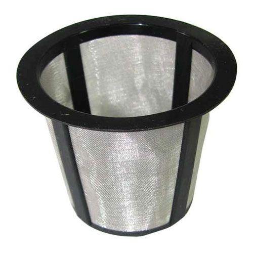 "FINE STAINLESS STEEL MESH FILTER 2"" DIAMETER X 1-1/2"""