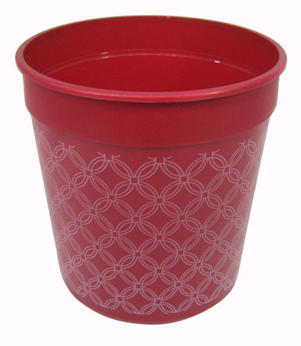 12 OUNCE RED PLASTIC CUP