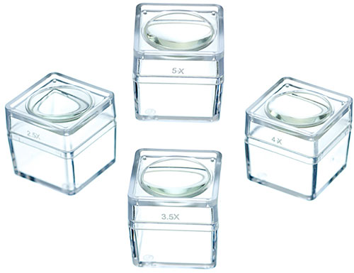 BUG-VIEWING MAGNIFICATION CUBES