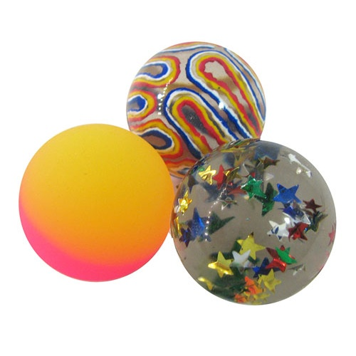 EYE-CATCHING RUBBER BALL
